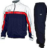 Prostar Lumino Tracksuit White/Red/Black