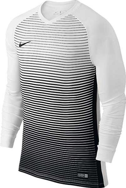 cb7b451a Nike Precision IV Long sleeve jerseywhite-black