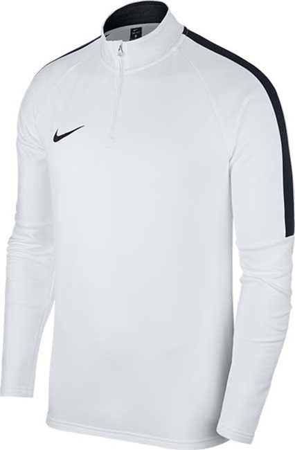 ef5f937c0dc8 Nike Academy 18 Drill Top white. White Black