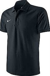 Nike core polo shirt black
