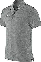 Nike core polo shirt Grey