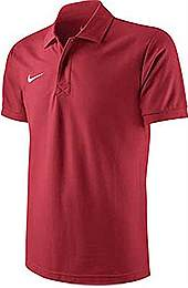 Nike core polo shirt Red