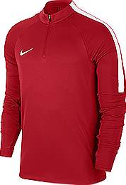 Nike Squad 17 Drill Top Red