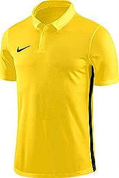 Nike Academy 18 Polo shirt yellow