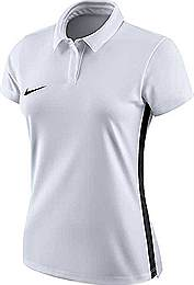 Nike Academy 18 Womens polo shirt white