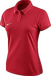 Nike Academy 18 Womens polo shirt Red