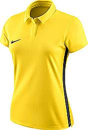 Nike Academy 18 Womens polo shirt Yellow