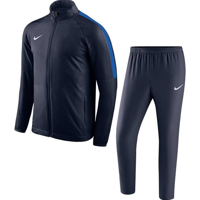3aa437f4413c6 Nike Academy 18 Woven tracksuit navy. Obsidian/White