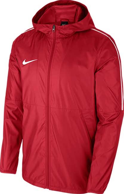 b32eaf78e957 Nike Park 18 Rain jacket Red