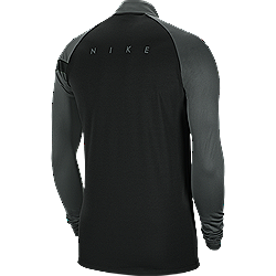 Nike Dry Academy pro  drill black rear
