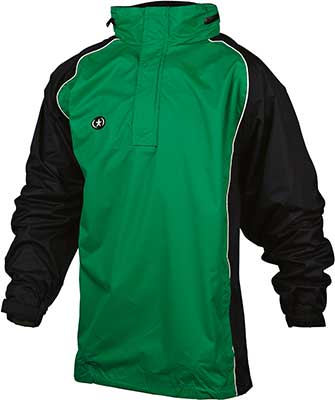 Prostar Cyclone rain jacket green-black