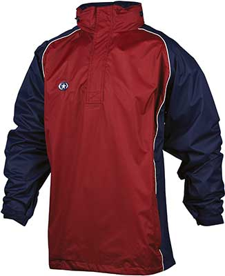 Prostar Cyclone rain jacket red-black