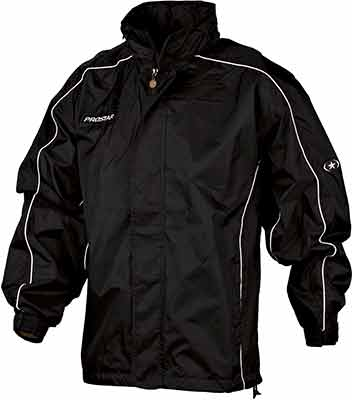 Prostar hurricane rain jacket black-white