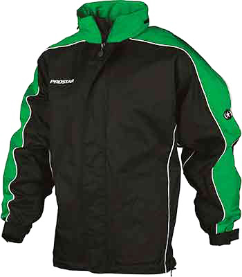 Prostar hurricane rain jacket black green