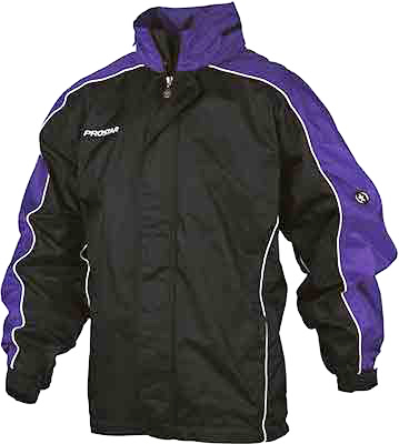Prostar hurricane rain jacket black purple