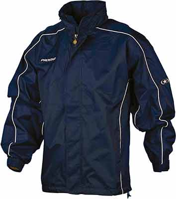 Prostar hurricane rain jacket navy-white