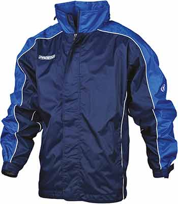 Prostar hurricane rain jacket navy-royal