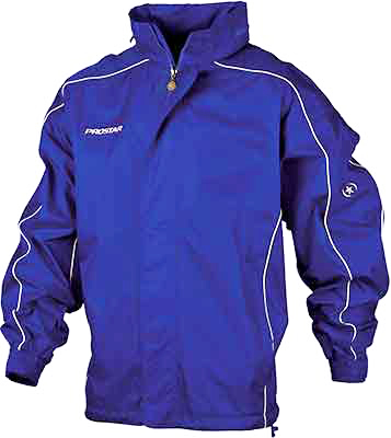 Prostar hurricane rain jacket royal-white