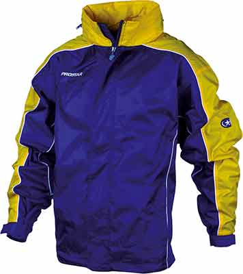 Prostar hurricane rain jacket royal-yellow