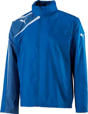 puma team spirit rain jacket royal