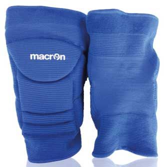 Macron violet knee pads royal