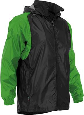 Stanno Centro Rain jacket black green