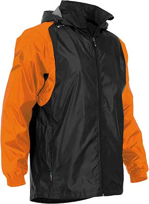 Stanno Centro Rain jacket Black/OrANGE