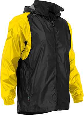 Stanno Centro Rain jacket black/yellow