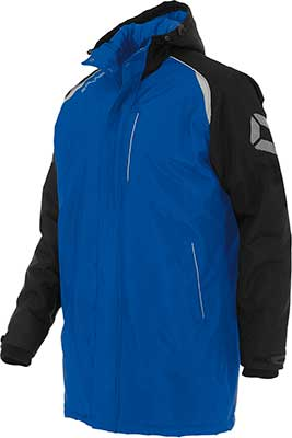 Stanno Centro Coach jacket Royal/black