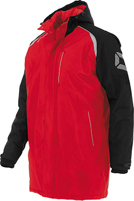Stanno Centro Coach jacket red/black