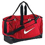 Nike Club Team Swoosh duffel bag red