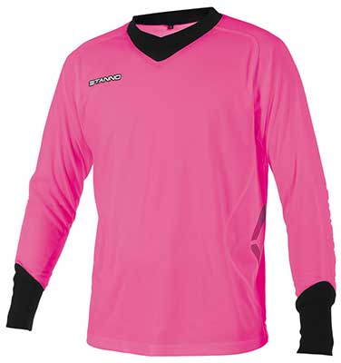 stanno Genova goalkeepers shirt pink