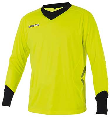 stanno Genova goalkeepers shirt lime