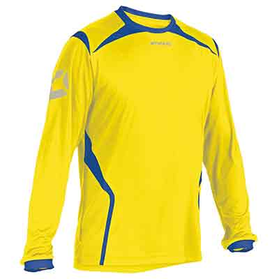 stanno torino football shirt yellow-royal