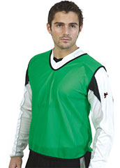 Green Mesh training bibs