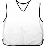 white Mesh training bibs