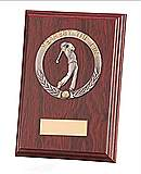 Galway Nearest The Pin Mahogany Plaque