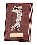 Galway Male Golf Mahogany Plaque