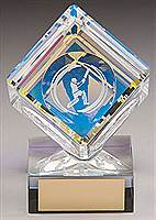 Victorus Cricket Cube Trophy