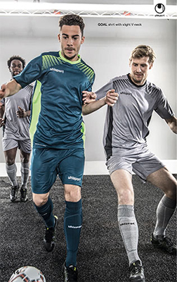 uhlsport goal football kit