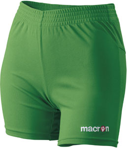 macron Alba shorts click on image to enlarge green