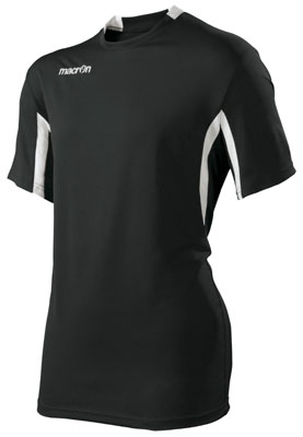 Macron neon volleyball shirt click on image to enlarge black