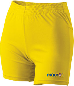 macron Alba shorts click on image to enlarge yellow