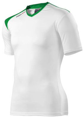 Macron griffin shirt click on image to enlarge white-green