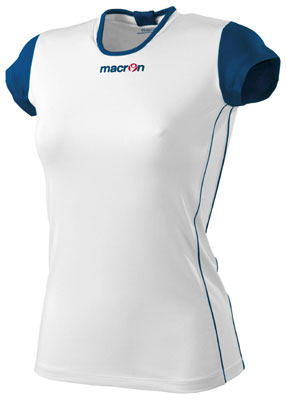 Macron saba volleyball shirt click on image to enlarge white
