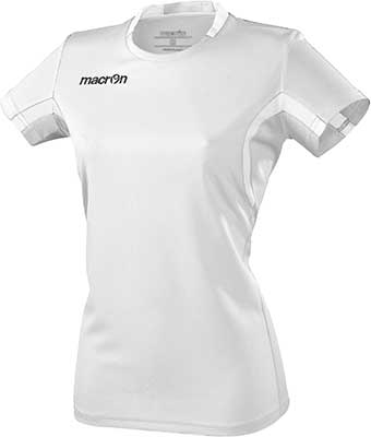Macron Alkaline volleyball shirt white