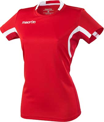 Macron Alkaline volleyball shirt red