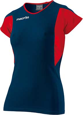 macron chlorine volleyball shirt navy