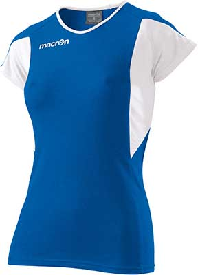 macron chlorine volleyball shirt royal