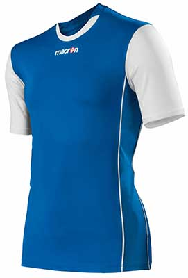 Macron congo mens volleyball shirt royal